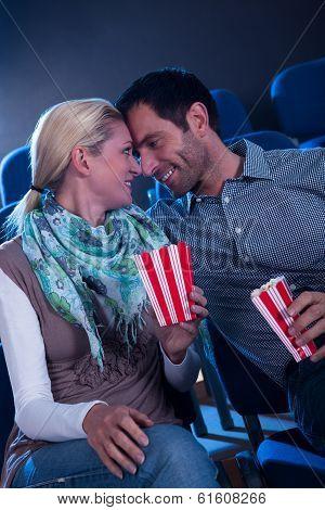 Stylish Couple Having Romatic Moment