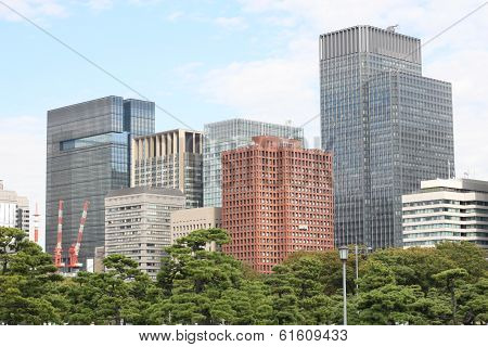 Tokyo office building