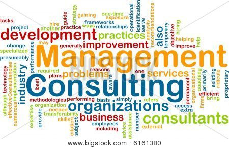 Management consulting Wort-Wolke