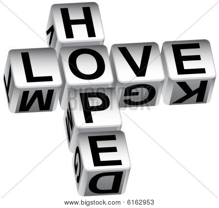 Hope love dice