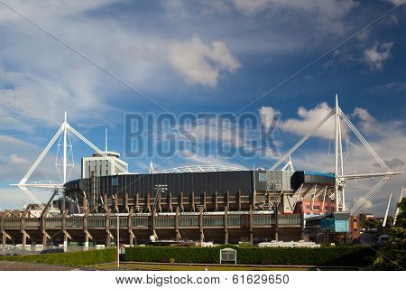 Exterior of the Millennium Stadium