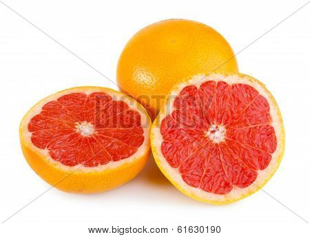 Fresh Red Grapefruit