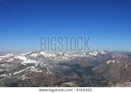 High Sierra Panorama