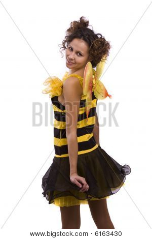 Bee Costumes Woman.