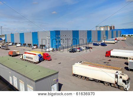 Logistics Facility, Storage Building, Loading Docks