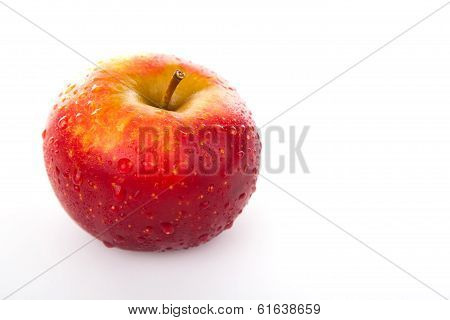 Red Apple Closeup
