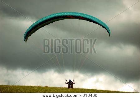 Paraglider Launch