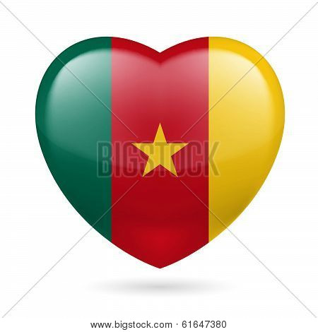 Heart icon of Cameroon