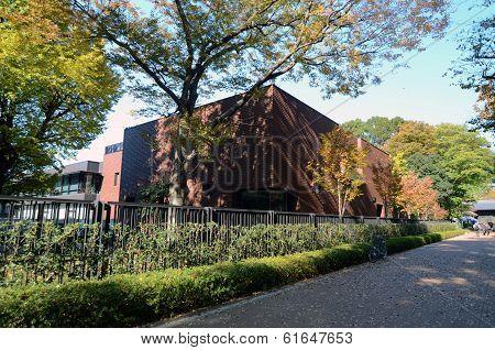 Tokyo, Japan - November 22: Tokyo Metropolitan Art Museum In Ueno Park