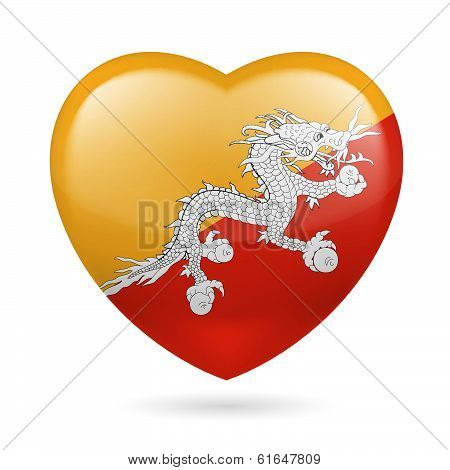 Heart icon of Bhutan