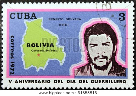 Ernesto Guevara Stamp 1972