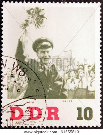 Gherman Titov Stamp