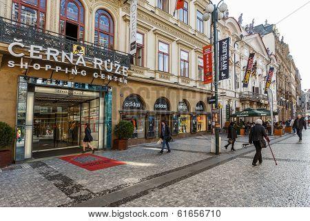 Prague Shopping Center Cerna Ruze