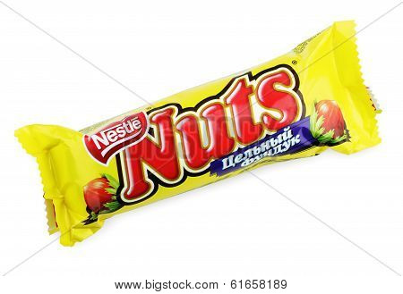 Nuts Candy Chocolate Bar