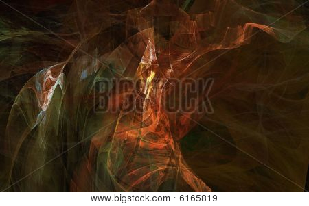 abstract colorful fractal background