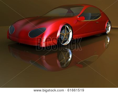 Non-branded generic concept car