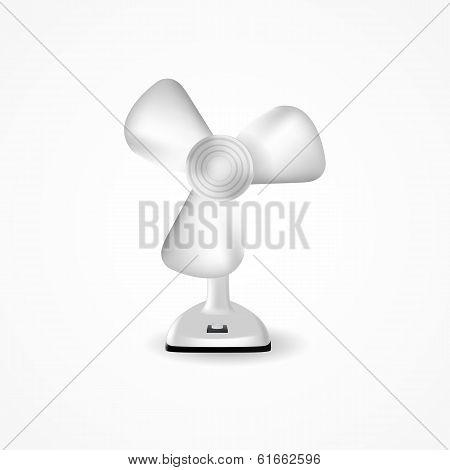 Illustration of fan