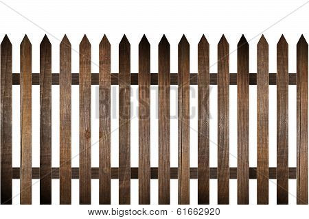 Rural Wood Fence