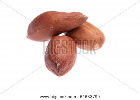 Close up of peanuts pile.