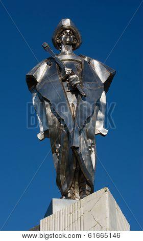 Statue Of Janosik, Terchova, Slovakia