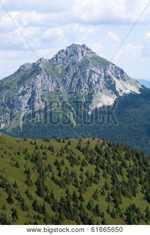 Big Rozsutec (velky Rozsutec) In Mala Fatra Mountain, Slovakia