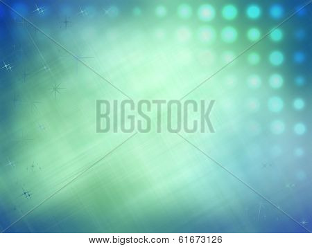 Turquoise Stained Abstract Background.