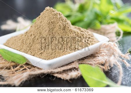 Portion Of Sage Powder