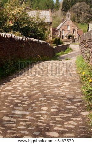 Cobble Lane to the Village Church