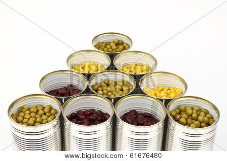 The tins