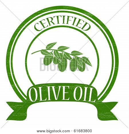 Certified olive oil