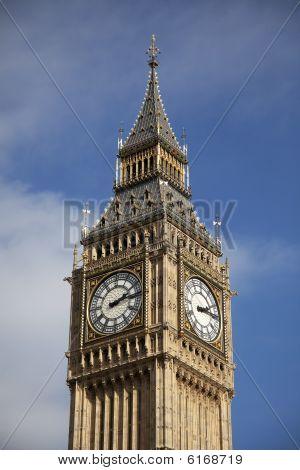Close Up Of Big Ben Tower
