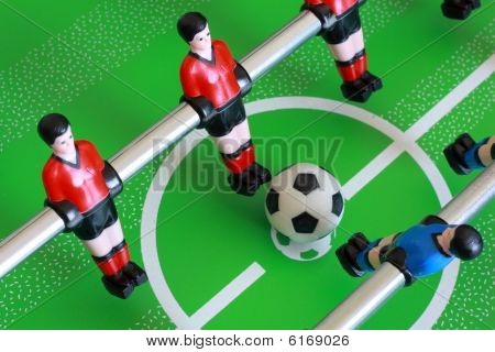 Foosball match