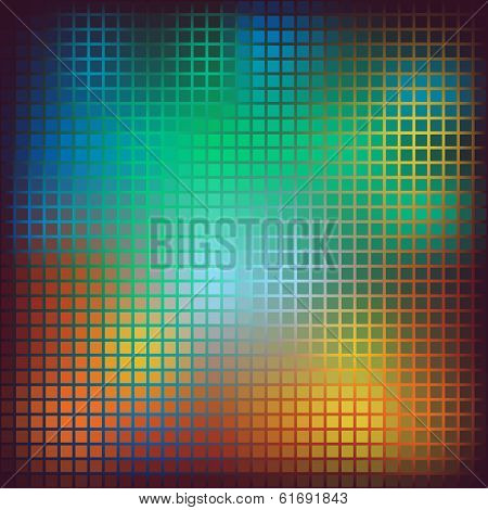 Pattern Geometric Shapes. Background With Squares