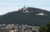 The Transmitter On The Hill Zobor Above The City Of Nitra