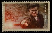 UNITED STATES - CIRCA 2013: postage stamp printed in USA showing an image of Harry Potter a Harry Po