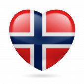 Heart icon of Norway