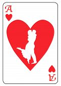 Постер, плакат: Ace Of Hearts
