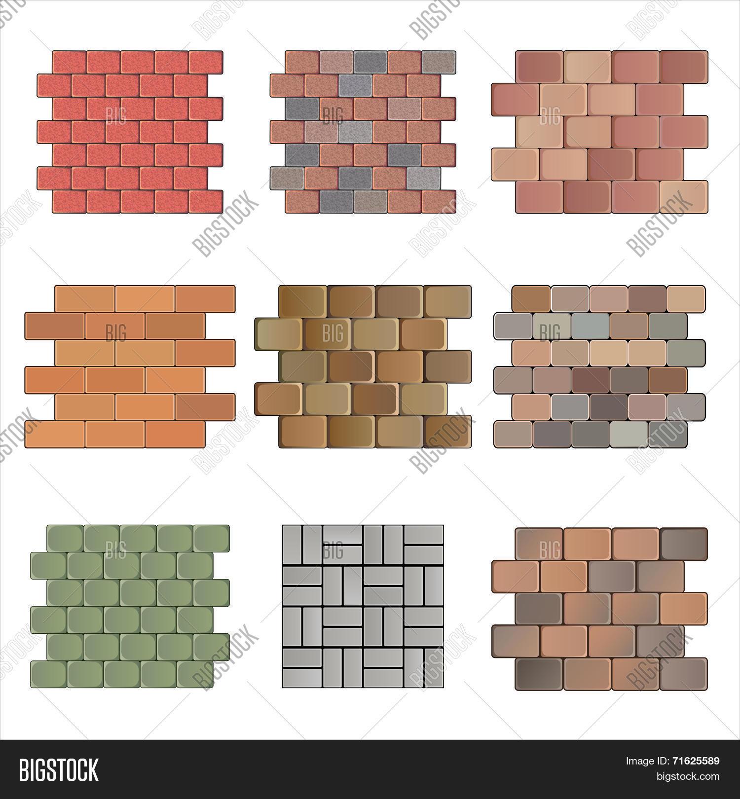 Paving stone vector photo bigstock for Paving planner