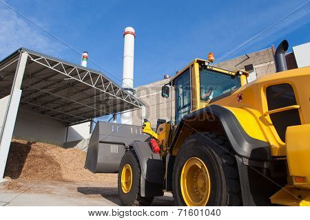 Loader At Co Generation Plant