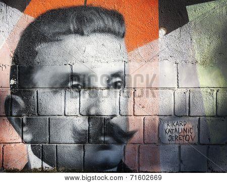 Rikard Katalinic Jeretov Graffiti