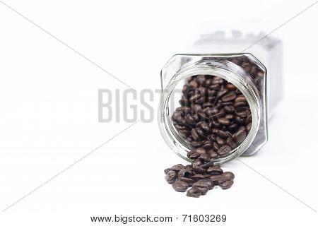 Bottle Coffee Beans Mug