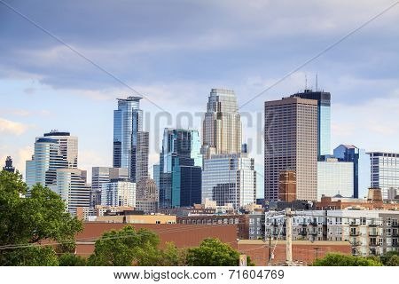 Minneapolis Downtown, Minnesota.