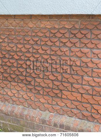Scallop Shaped Bricks
