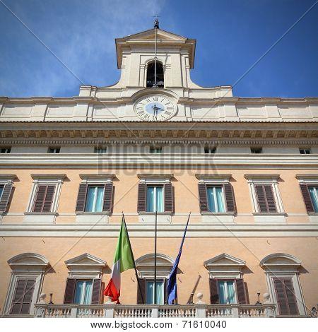 Rome - Parliament Building