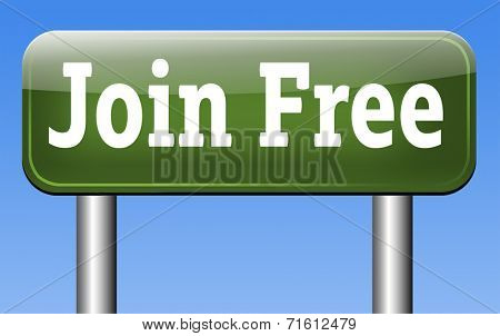 free account join us now and subscribe through this button or icon for your membership. Apply here and sign up for subscription.