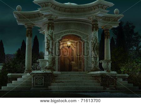 Roman Pavilion, 3D Cg