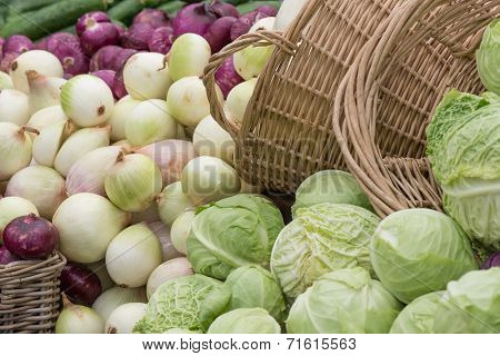 Cabbages And Onions
