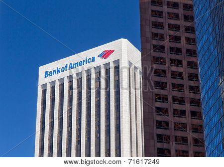 Bank Of America Center In Los Angeles