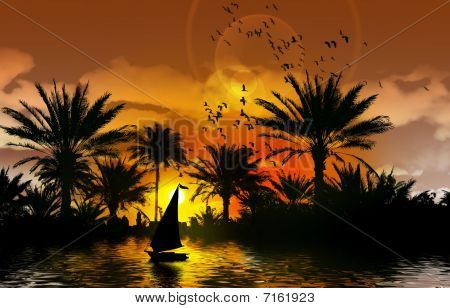 Nile River Magic