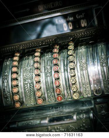 Beautiful antique cash register